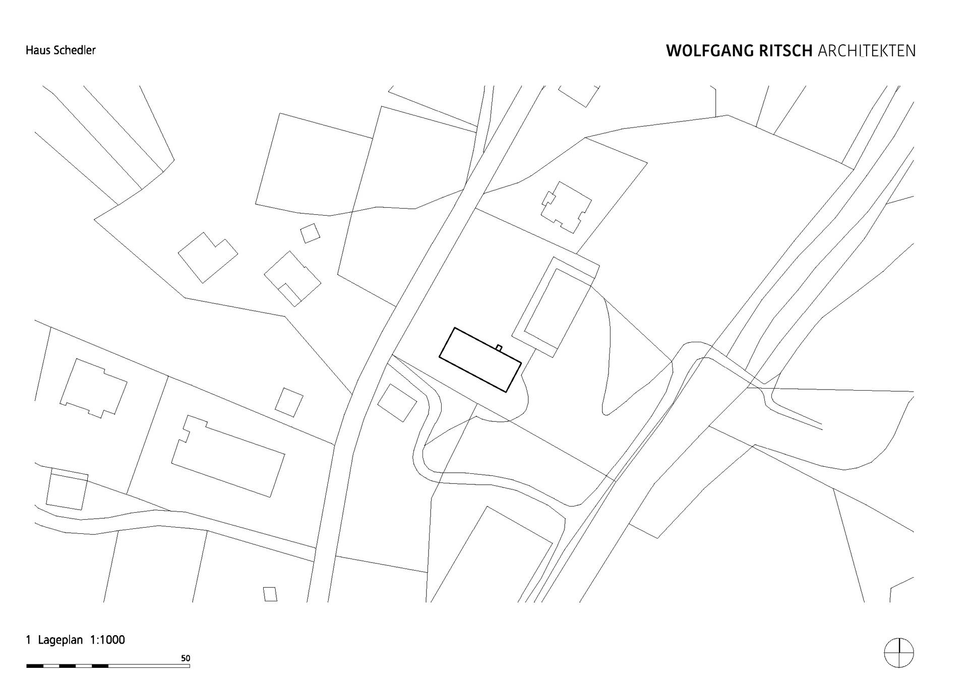 2500_EFH Haus Schedler_PLAN_900_Lageplan 1000 Kopie