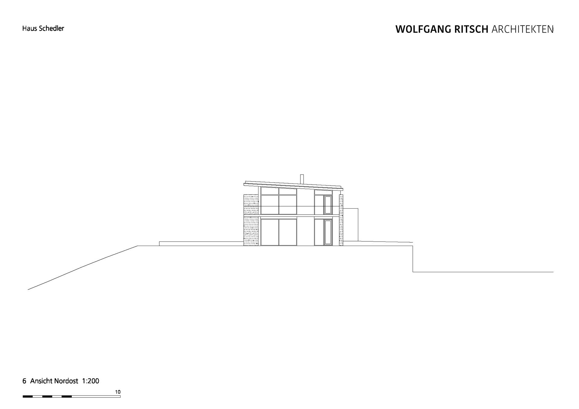2500_EFH Haus Schedler_PLAN_920_Ansicht_NO 200 Kopie