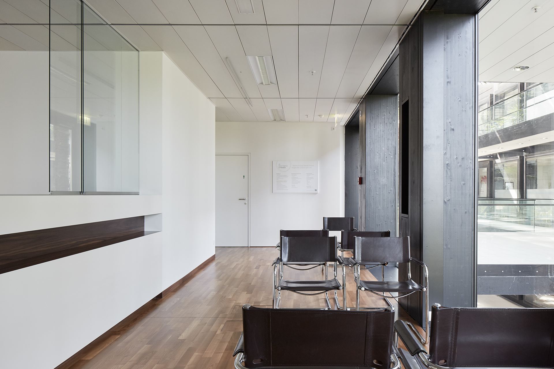 arztpraxis dr. chwalla – wolfgang ritsch architekten, Innenarchitektur ideen